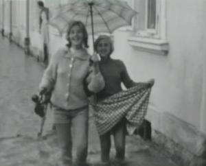 Steyr im Hochwasser 1959