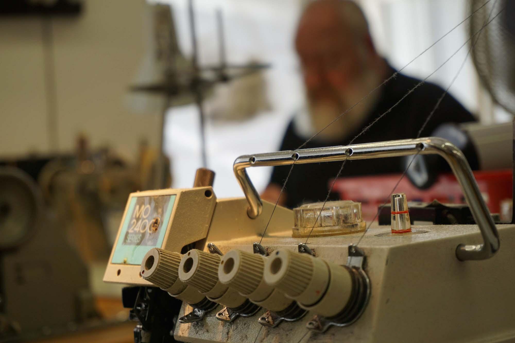 In der Werkstatt von Peter Holub von Tailors Unlimited